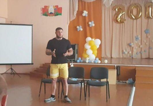 Гражданин КСБ Фёдор Менча провёл встречу с подростками