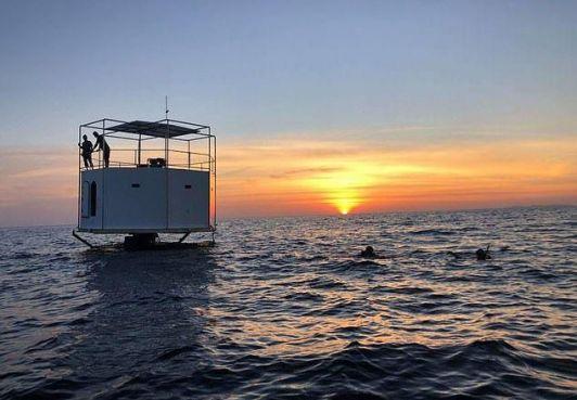 Королевство Северный Бархант поддерживает проект по созданию плавучих домов в нейтральных водах
