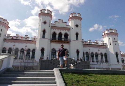 Граждане Королевства Северный Бархант посетили Коссовский замок