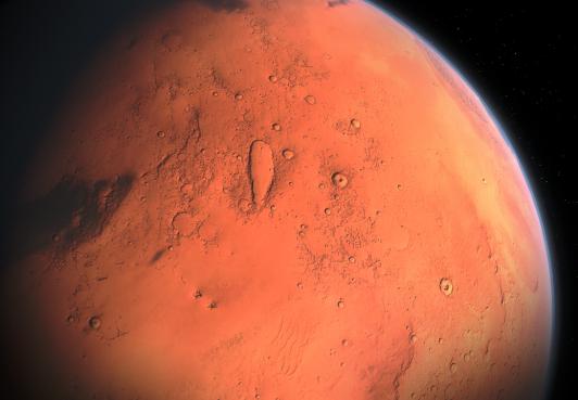 ROYAUME DE BARCHANT DU NORD ET MISSION SUR MARS