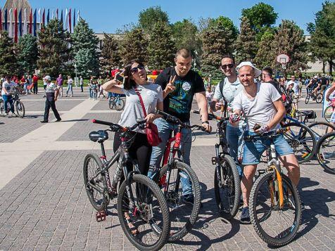 КСБ на велопараде в Астрахани (май 2019)